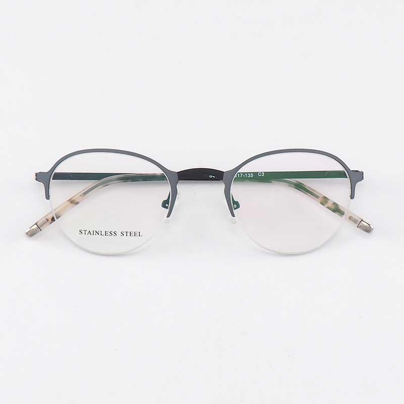 bed5e2a2f7 Compre YOUTOP Moda Mujer Lentes Clásico Diseñador De La Marca De Lujo De  Acero Inoxidable Gafas Elegante Marco De Prescripción S6832 A $54.64 Del  Runyutian ...