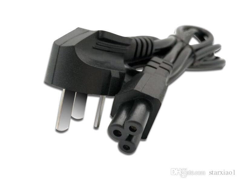 3 poli UE US AU UK Plug 1.2m Notebook Laptop Cavo di alimentazione Adattatore Cavo adattatore caricabatterie
