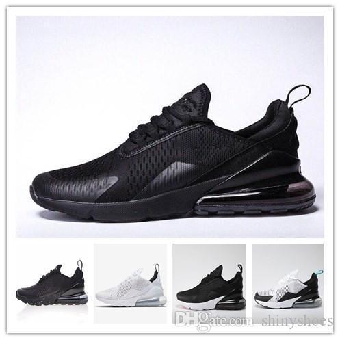 491c5cdfebf0d3 Hot 270 Shoes Designer Shock Air Cushion Triple Black White Bruce ...