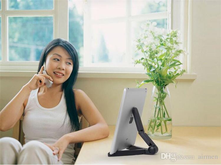 Evrensel Tablet PC iPad Için Standı / Kindle / Xiaomi Katlanabilir Ayarlanabilir Döner Standı Tutucu için 5-11