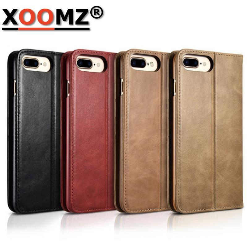 for cover iphone 7 plus cases coque flip case anti knock for funda