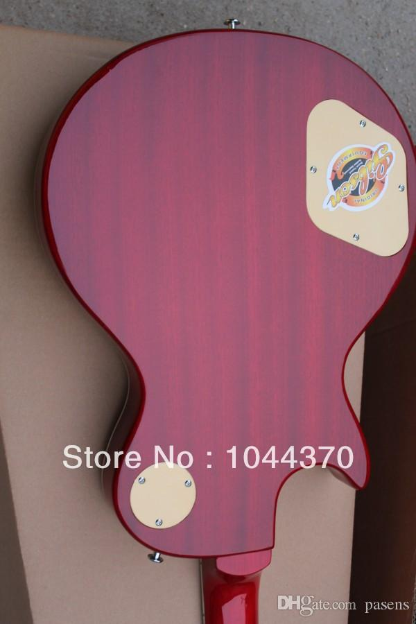 Wholesale - Custom Shop fire fingerboard wavy top electric guitar Factory sales