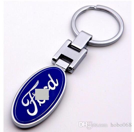 3D Car logo key Fob Car Keychain Keyring Key Chain Key Ring For Ford Auto Accessories