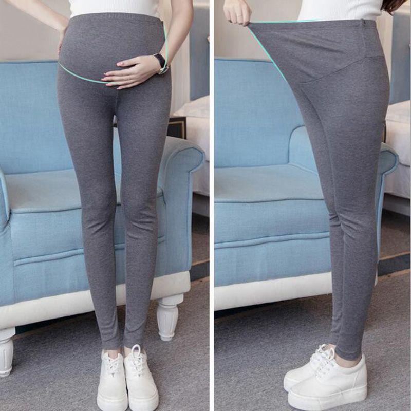 e0b0c17390cf43 2019 Thin Spring Modal Maternity Legging Pregnancy Clothes Summer Women  Pants For Pregnant Women Leggings Maternity Clothing From Askkit, $34.52    DHgate.