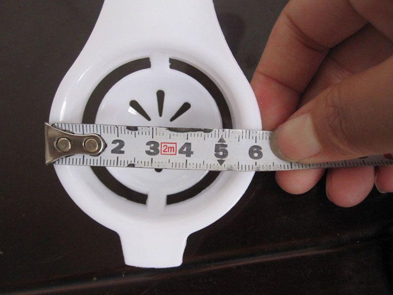 3,3 * 6,5 cm Eigelb Weiß Separator Egg Divider Egg Tools Praktische Küchenhelfer Kochwerkzeug ZA6283