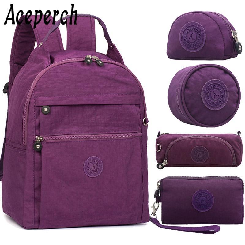 29980578625a7 Satın Al ACEPERCH Kadınlar Sırt Çantası Genç Kızlar Için Feminina S Mujer  Schoolbag Sırt Çantaları Bagpack Seyahat Sırt Çantası Kese Dos, $72.45 |  DHgate.