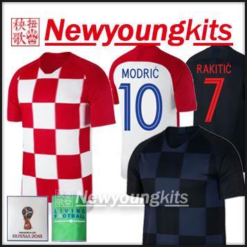 bb46b88f0 ... where can i buy spain 2018 world cup croatia home soccer jersey away  modric mandzukic football