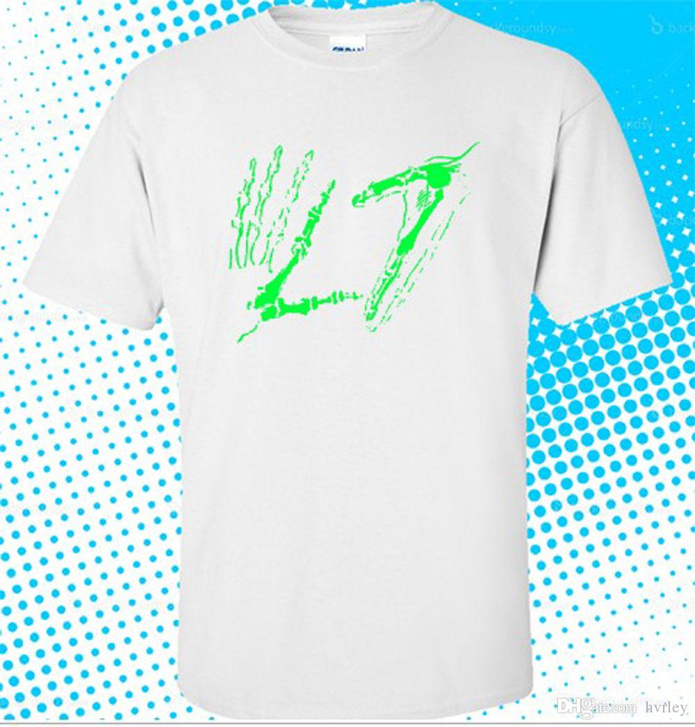 New L7 Rock Band Hands Logo Mens White T Shirt Size S To 3xl Plus