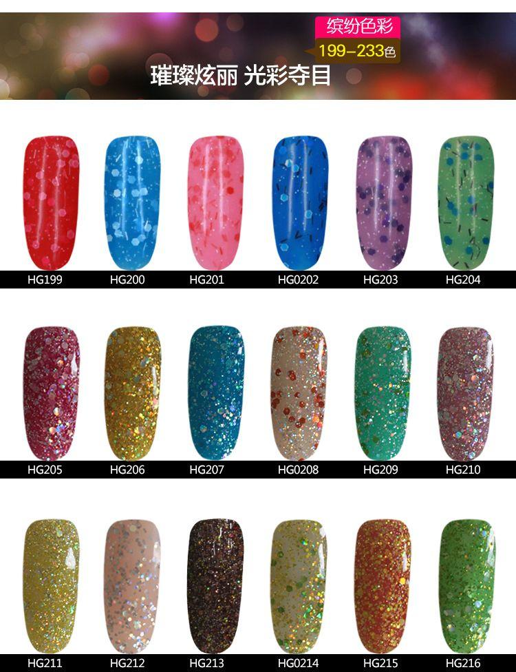 Honey Girl UV Gel polish Nail Gel Long-lasting Color Soak Off Led Led Nail Gel Lacquer Varnish