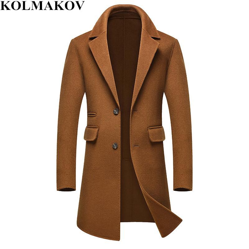 Acheter Coat En Manteau Trench 2018 Laine Nouveau Hommes Long zrAp8wzqx