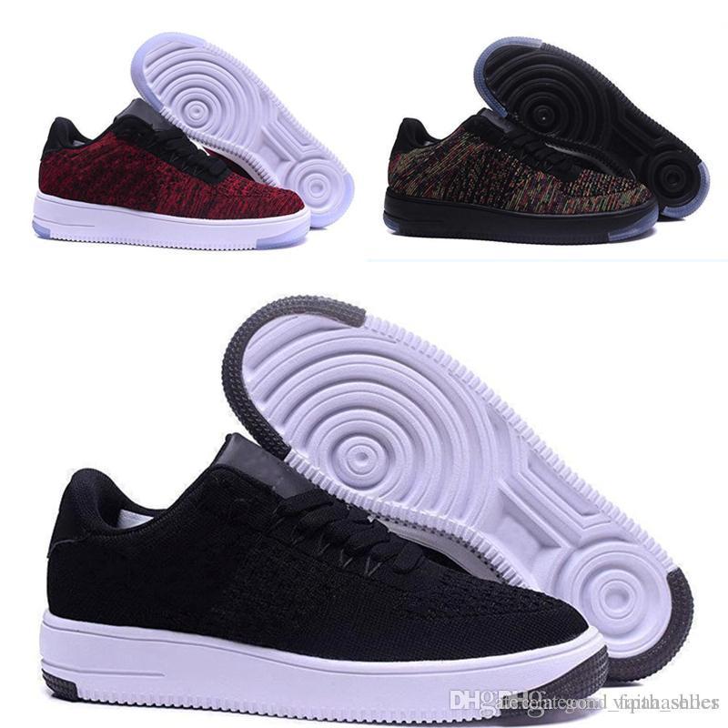new styles 39578 58b7e Acheter Hot Vente Nike Shoes Nike Air Force One Vapormax Off White Sh2018  Nouveau Style Ligne De Mouche Hommes Femmes High Low Lover Chaussures De  Planche À ...