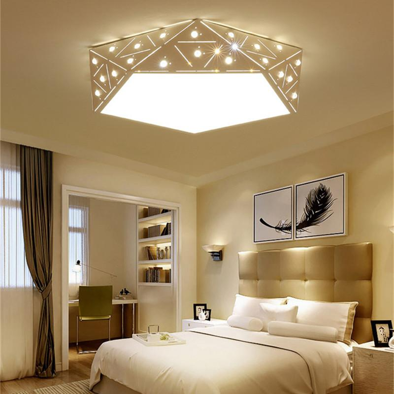 2018 Creative Geometric L&s Room L& Room Bedroom Lighting Wholesale Modern Personality Round Diamond Led Ceiling Lights From Jinyucao $408.64 | Dhgate. & 2018 Creative Geometric Lamps Room Lamp Room Bedroom Lighting ...
