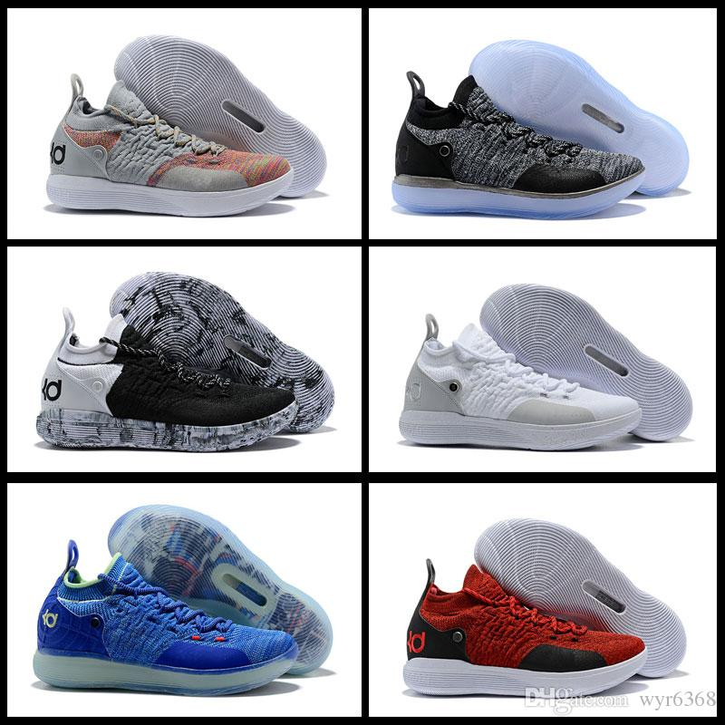 0d8b344bd43b 2018 New Men Basketball Shoes Air KD 11 Anniversary University Red Still Kd  Igloo BETRUE Oreo USA Kevin Durant Elite Sport Sneakers 11s Shoes Sale  Sneakers ...