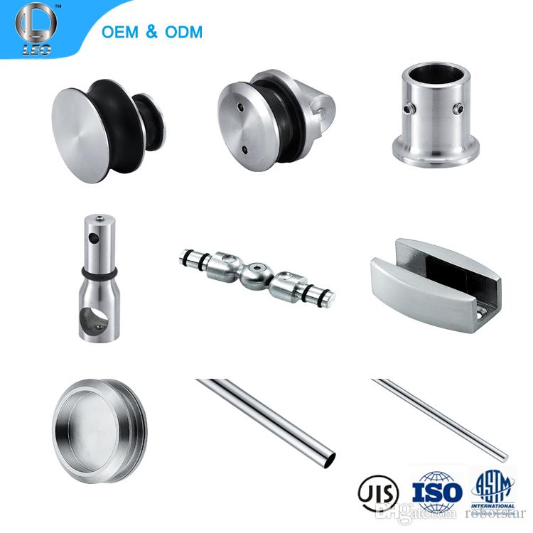 Easy Install Wall Mount Cold Room Aluminum Sliding Mirror Door Hardware Bath Accessory Set Stainless Steel Ings Bathroom