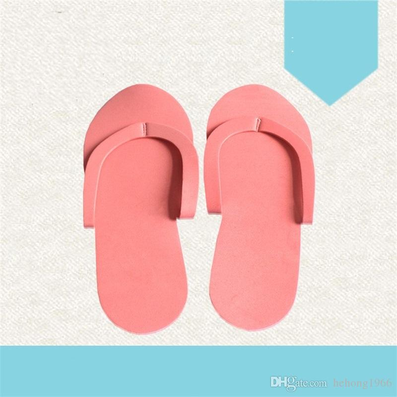 9c5d95b4a38 2019 Disposable Slipper Sponge Foam Salon Spa Manicure Special Purpose  Pedicure Thong Foot Massage EVA Slippers Hotel Necessities 0 48yx V From  Hehong1966