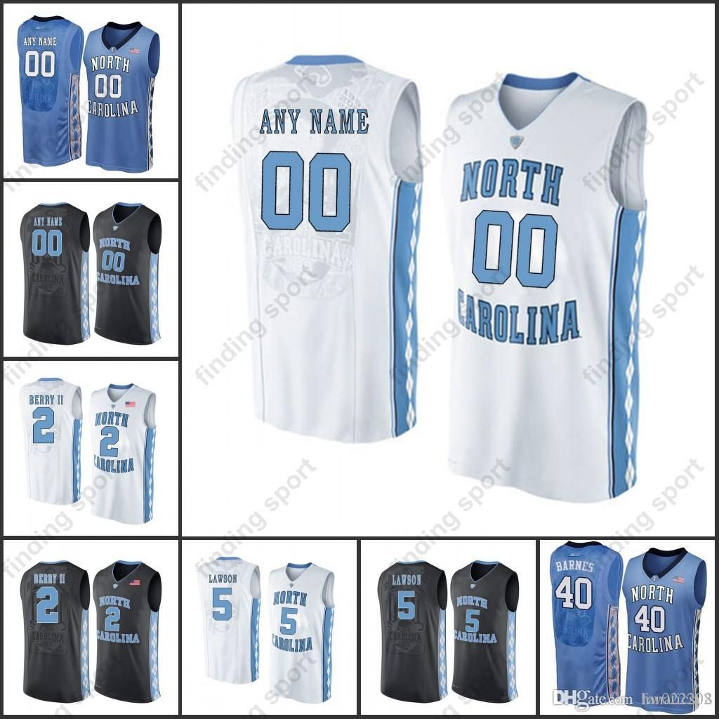 f656e18c8da Custom MEN NCAA North Carolina Tar Heels College Basketball Jerseys ...