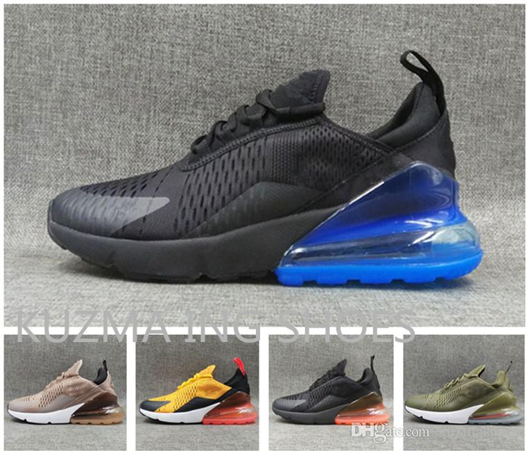 Hot Sell 270 Running Shoes Navy Blue Mens Flairs Triple Black Trainer  Sports Shoe Medium Olive Womens 27C Photo Blue Sneakers Us 5.5~12 Kids  Running Shoes ... d0dfff9d4d