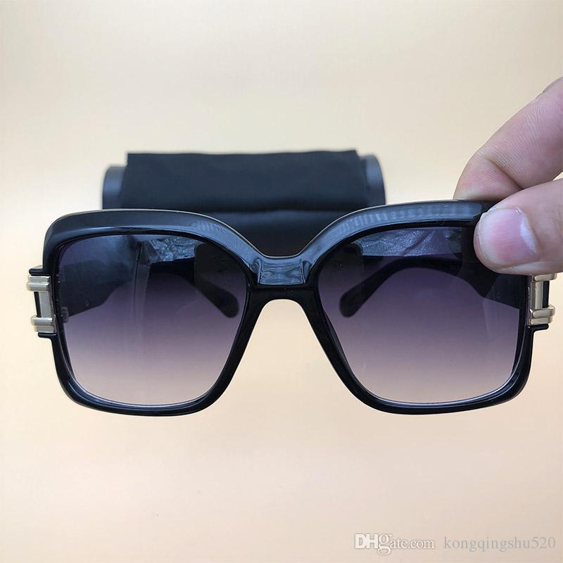 4fbd369caf304 Compre Lendas Óculos De Sol High End New Luxury Óculos Oversized Degsiner  Mens Womens Marca Óculos De Sol Oculos Preto Marrom Grande Moda Óculos 625  De ...