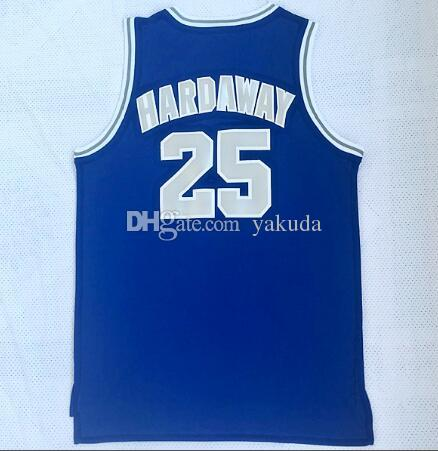 54a786c43 2019 Wholesale 2018 New Mens Memphis State University 25 Hadaway Blue Basketball  Jersey Shirts,Discount Cheap Men Trainers Basketball Wear Tops From Yakuda,  ...