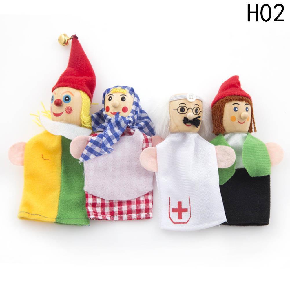 Dedo Brinquedos King And Clown Fantoches De Mão Presente De Natal Do Bebê Brinquedo Educativo Por Atacado