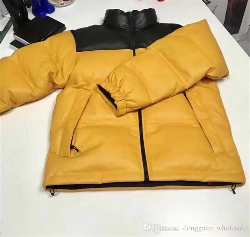 a7385feedad 19FW Leather Nuptes Jacket Men Women 1s 1 High Quality Winter Clothes  Jackets Coats Men Jackets Clothes Winter Jackets Online with  150.9 Piece  on ...