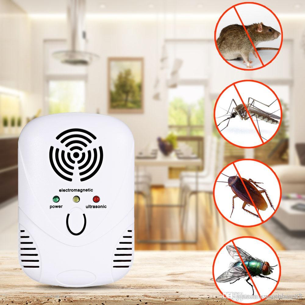 Ultrasonic Pest Repeller Electronic Mouse Bug Repellent Mosquito Pest Rejector Killer Pest Control Device Anti Insects A Wide Selection Of Colours And Designs Access Control