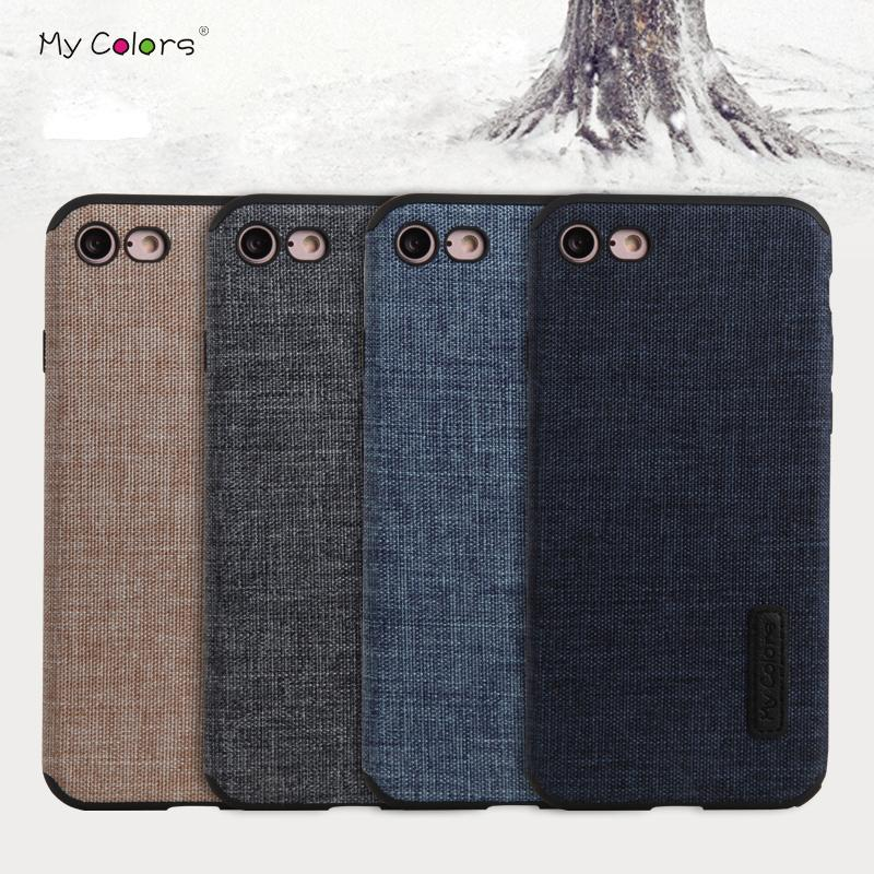 newest 965f7 63c9f My Colors For Iphone 8 8 Plus Case For Iphone 7 Non -Slip Cotton Cloth Soft  Silicone Tpu Back Cover Case For Iphone 7 Plus