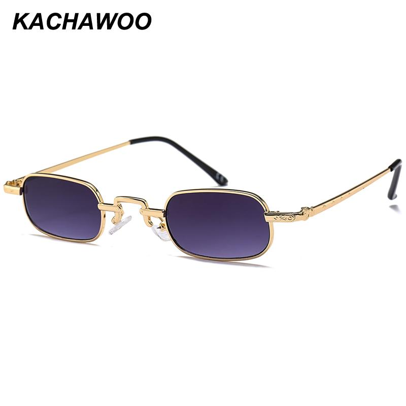 179f8e8e009 Kachawoo Wholesale Small Square Sunglasses Men Metal Frame Rectangle Sun Glasses  Women Summer Fashion Accessories 2018 Best Sunglasses Dragon Sunglasses ...