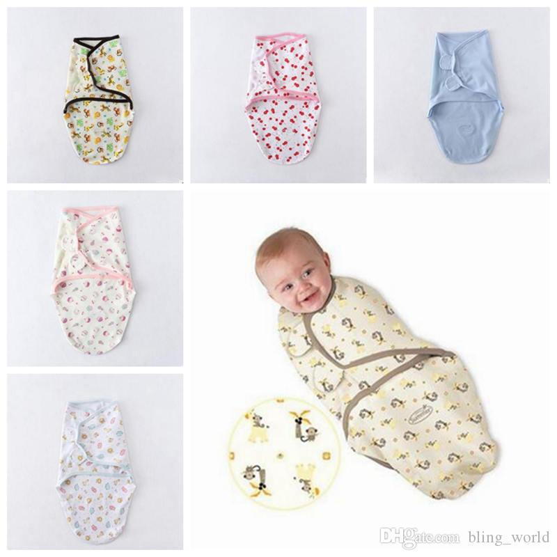 finest selection 06844 f08cc Baby Sleeping Bags Infant Sleepsacks Wraps Newborn Blankets Infant Baby  Swaddling Sleep Bag Infant Cotton Swaddling Clothes YL82