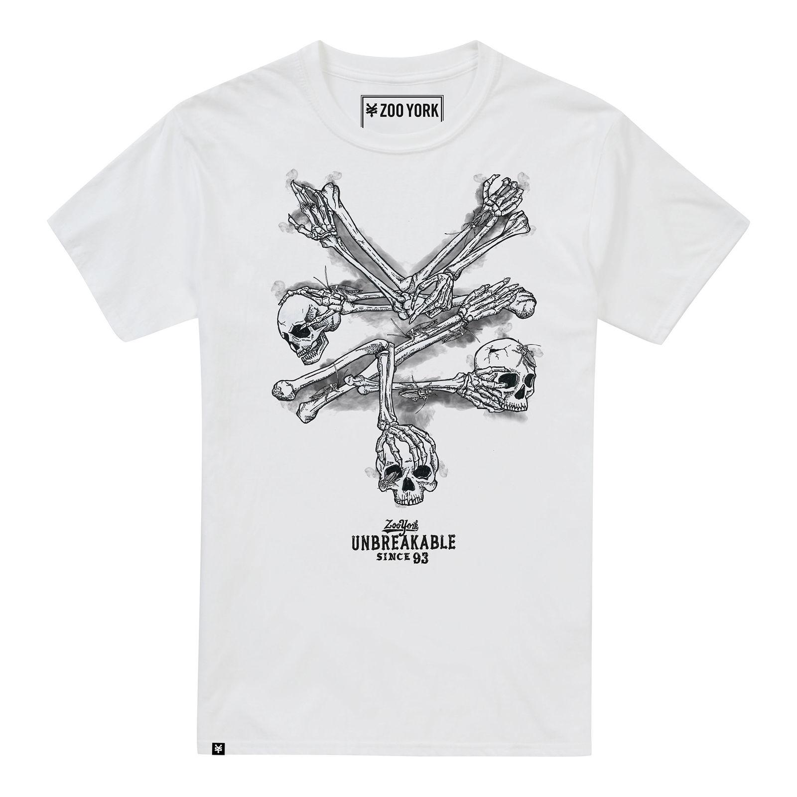 ZOO YORK BONES MENS T WHITE Interesting T Shirt Designs T Shirts Cool  Designs From Cooltees fac12271fb6