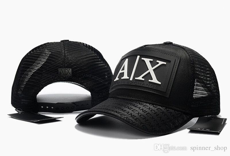 4606142e 2019 High Quality AX Sports Mesh Baseball Cap Men Women Bone Fashion Summer  Hat Unisex Snapback Cap Trucker Hats Hip Hop Dad Fishing Outdoor Hat From  ...
