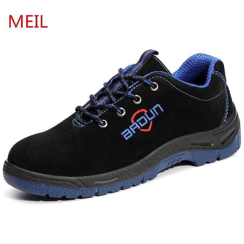 Unisex S3 Safety Shoes Steel Toe Work Shoes Men Insulation 6 Kv
