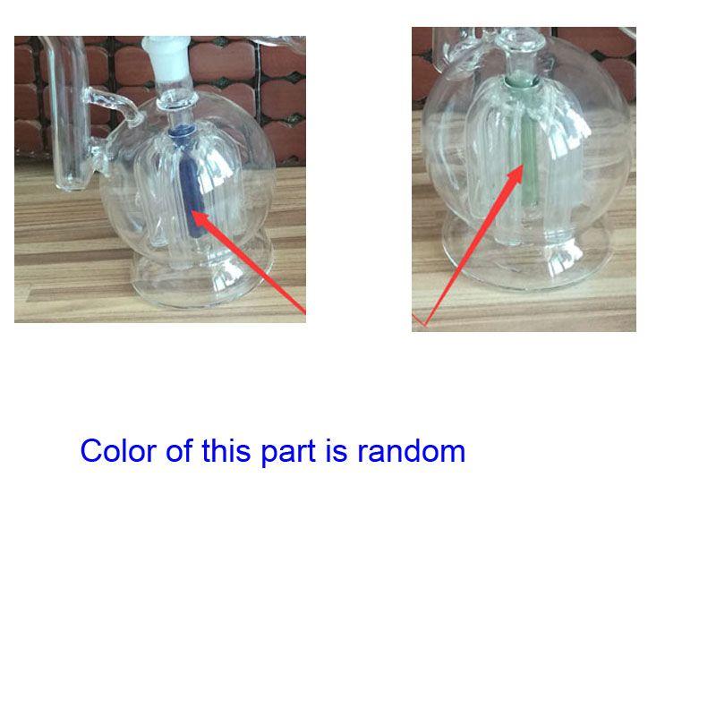 Gros nouvelle conception 5,1 pouces Tall Mini verre tuyau d'eau en verre fumer Pipe Narguilé Bongs filtre à vendre
