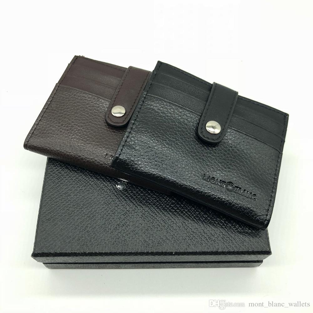 High-end Men\'s Leather Business Card Holder ID Card Set MT Multi ...