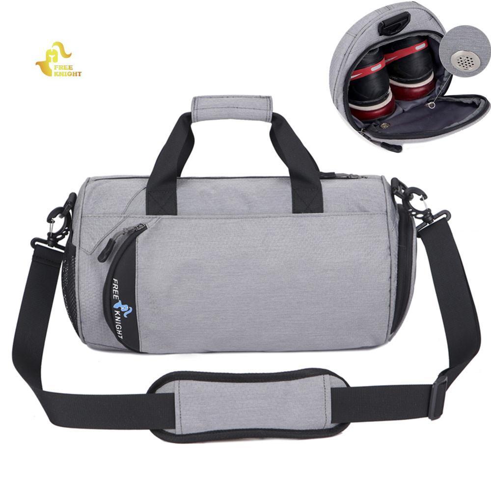 2a67579a58a 2019 Free Knight Gym Bag Waterproof Shoulder Sport Gym Bags For Shoes  Storage Women Fitness Yoga Training Bag Men S Gymnastic Handbag From  Pothos, ...