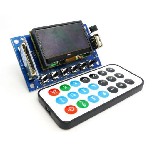 Freeshipping LCD 12v MP3 Player Decording Moulde WMA WAV decoder audio board FM Radio Bluetooth Audio Receiver MP3 KIT DIY BT Decoding board