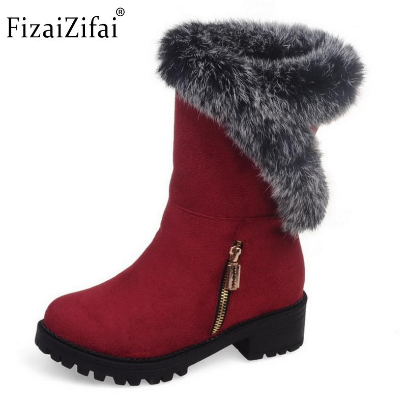 fe6f218a88e New Fashion 2016 Woman Warm Snow Boots Women Flats Round Toe Boot Botas  Femininas Winter Girls Shoes Footwear Size 30 52 Leather Boots For Women  Sporto ...
