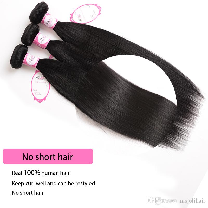 Indian Virgin Hair Straight 4 Bundles 30 inch 8A Unprocessed Indian Straight Hair Weave Bundles 100% Indian Straight Human Hair Extensions