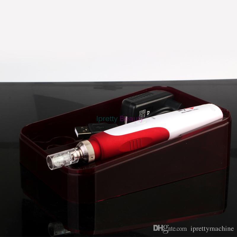 حار بيع المهنية كوريا الدكتور القلم ختم الكهربائية ديرما القلم ألتيما a7 مع مايكرو إبر ديرما القلم