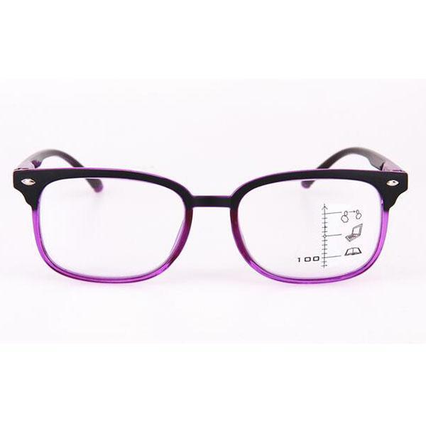 bdd9a22f5d Compre Moda Gafas De Lectura Progresivas Gafas Multifocales Foco Múltiple  Cerca Y Lejos Gafas Multifunción Marco Púrpura + 1.0 ~ + 3.0 Mujeres  Hombres A ...