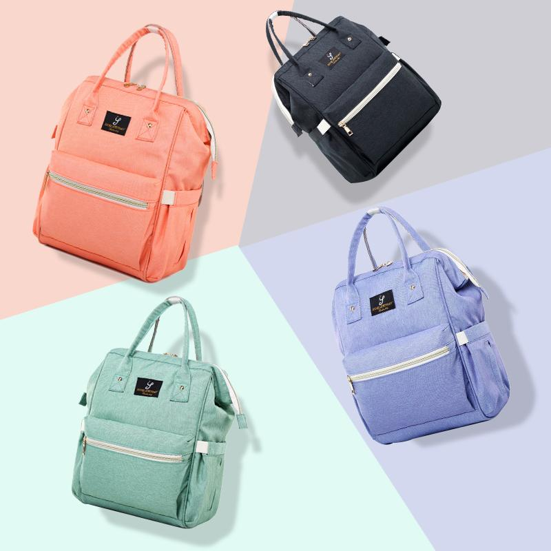 Waterproof Large Mummy Nappy Diaper Bag Baby Travel Changing Nursing Backpack Diaper Bags Baby