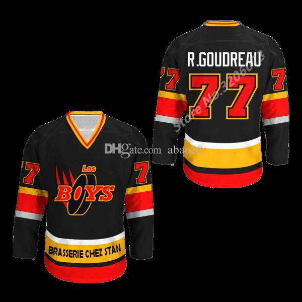 149657f9ae1 2019 #77 Richard Goudreau Les Boys Retro Ice Hockey Jersey Mens Embroidery Stitched  Custom Any Number And Name Jerseys From Abao20, $40.6 | DHgate.Com