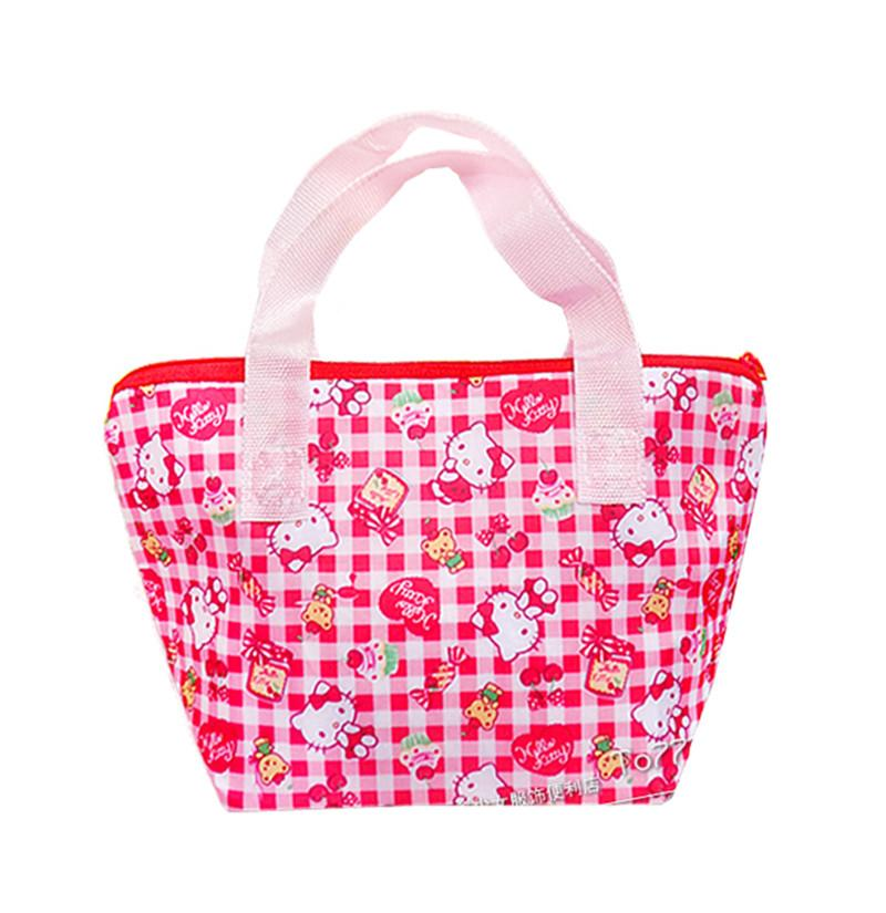 Cute Hello Kitty Little Twin Stars Insulated Lunch Bags For Women Girls  Kids School Lunchbox Tote Bag Thermal Cooler Bag Handbag Organiser Handbag  Storage ... 3b0aa58cd6deb