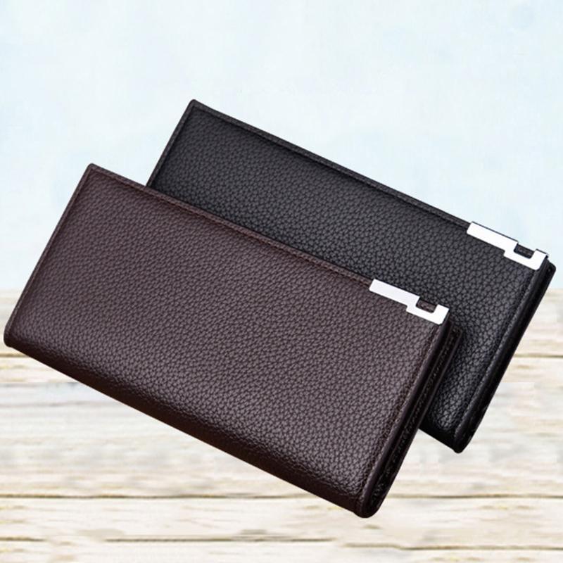 Männer Kurz Echtem Leder Brieftasche Rindsleder Mode Brieftasche Tasche Gutes Renommee Auf Der Ganzen Welt Herrenbekleidung & Zubehör