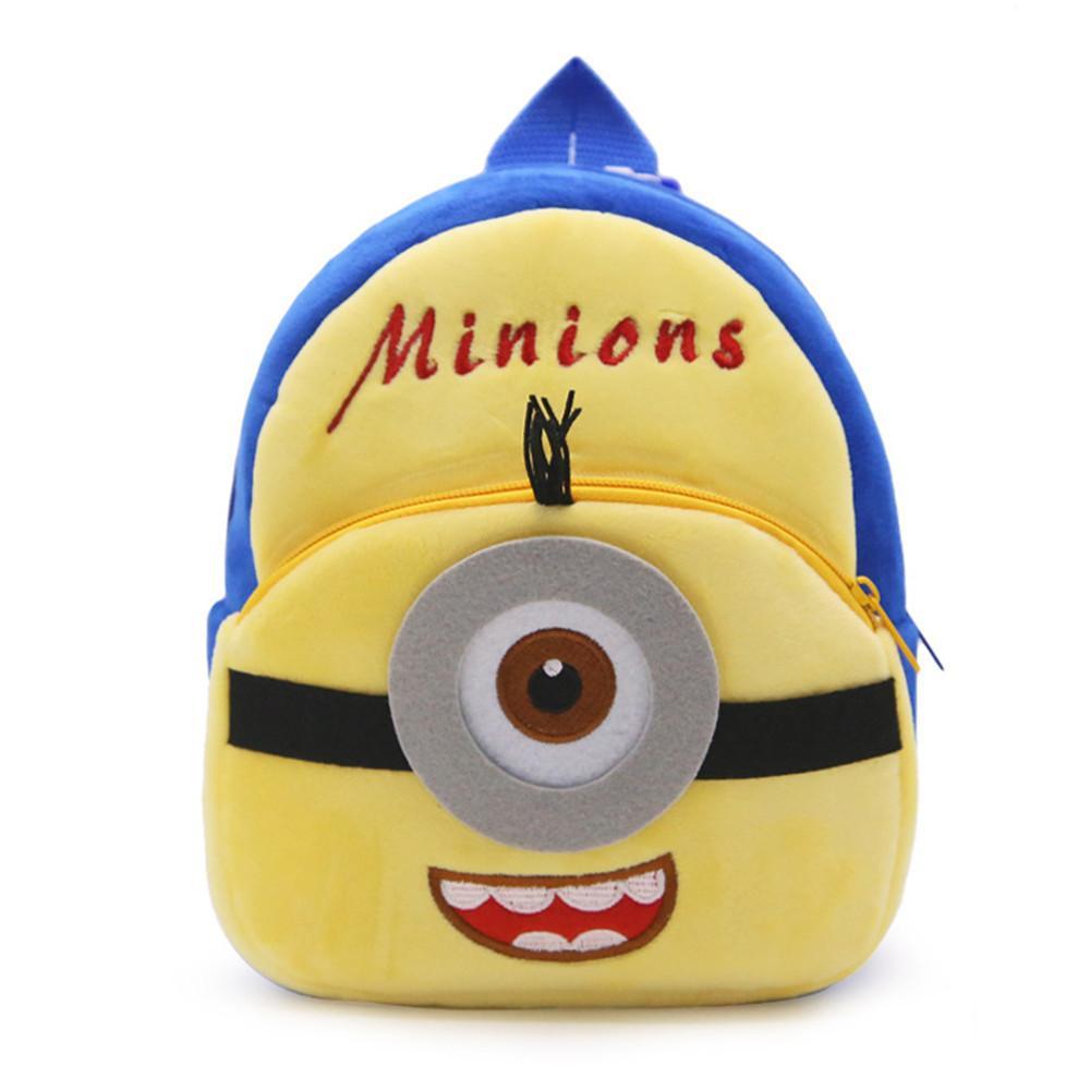 Acquista zshop da 1 a 3 anni borsa da bambino bambini minion bookbag