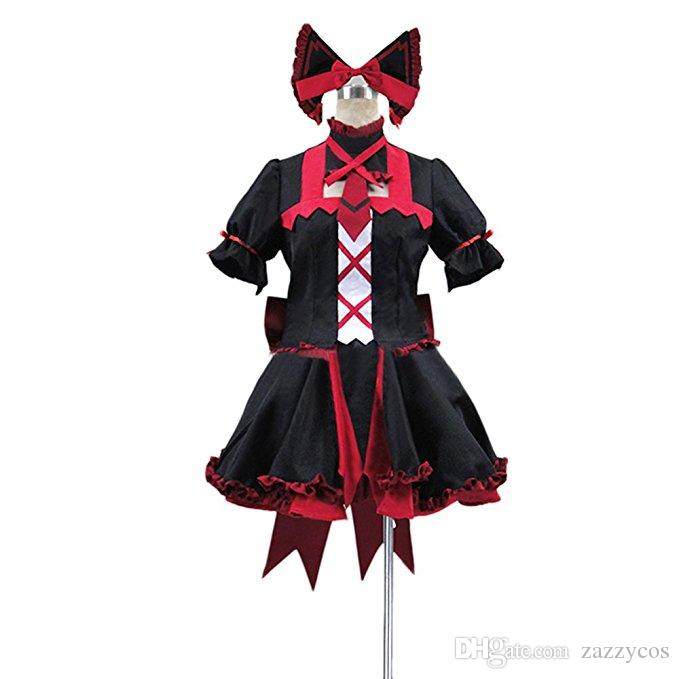 GATE Rory Mercury Dress Halloween Uniform Cosplay Costume
