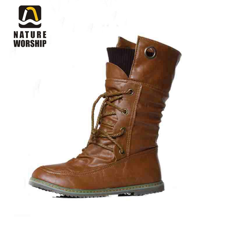 Shoes Martin Ankle Solid Winter Size For Boots Soft