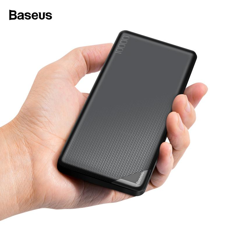 10000mah Mini Power Bank Portable Charger 2 Usb Led Powerbank External Battery Poverbank Fast Charging For Xiaomi Mi 9 Iphone Power Bank Mobile Phone Accessories