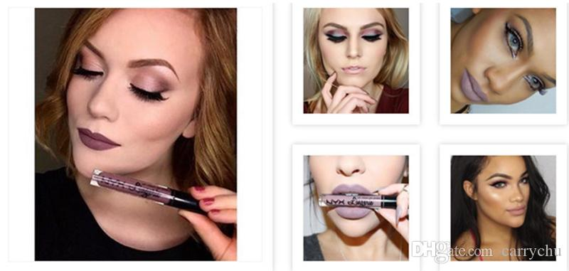 NYX lip lingerie lip cream Lip gloss Rossetto vintage long lasting 4ML Professional Makeup i