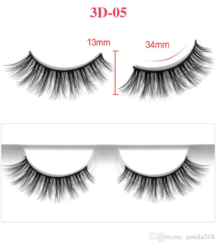 Best selling Beauty Fashion False Eyelashes Eyelash Extensions handmade Fake Lashes Voluminous 3D Fake Eyelashes For Eye Lashes Makeup